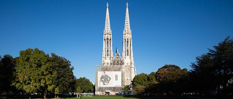 Header Votivkirche und Vorplatz