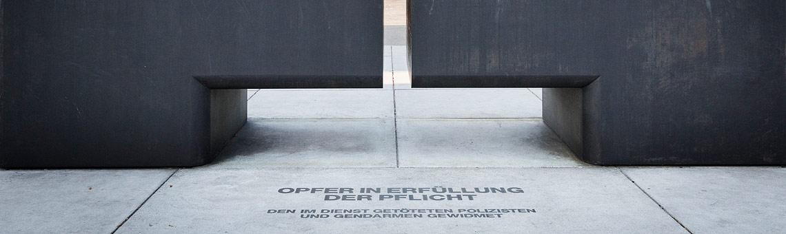 Slider Denkmal der Exekutive
