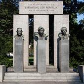 Detail Denkmal der Republik
