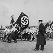 'Völkische Kundgebung' der Nationalsozialisten auf dem Wiener Heldenplatz © ÖNB (435.993-B)