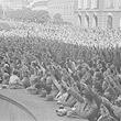 Tag des Großdeutschen Reiches in Wien. Hitlergruß am Heldenplatz. © ÖNB / Rübelt (002_38_091_01_073_C_1B_00c)