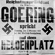 Reichstagspräsident Hermann Goering spricht - Heldenplatz © ÖNB (PLA16317319)