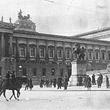Parlamentskrise © ÖNB / Hilscher (H 1918/2)